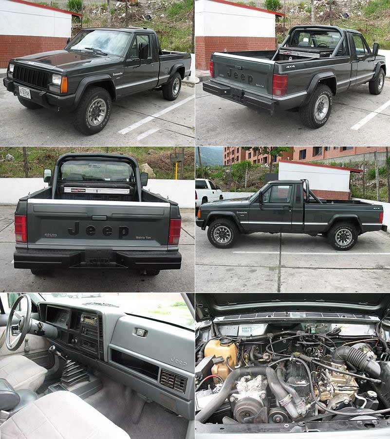 Jeep Comanche Comanche Information And Pictures
